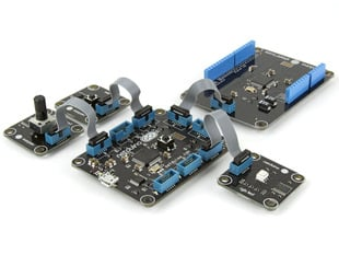 Netduino Go! Starter Pack (Modular .NET microcontroller)