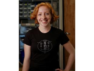 Transistor Man Shirt - Womens Medium