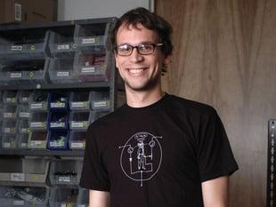Transistor Man Shirt - Mens Medium
