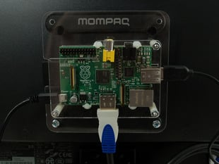 VESA mount for Raspberry Pi Model A and Model B