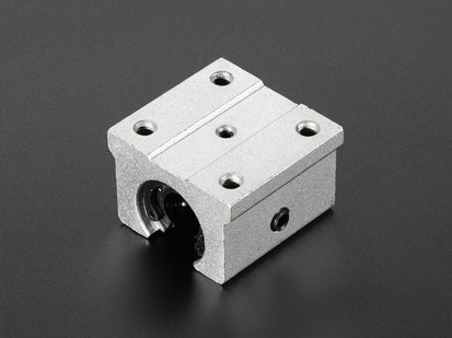 Linear Bearing Pillow Block for supported shafts