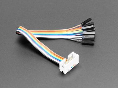 10-pin IDC Socket Rainbow ribbon to sockets Breakout Cable
