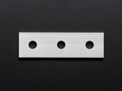 Coupling Plate with 3 Holes for  Aluminum Extrusion