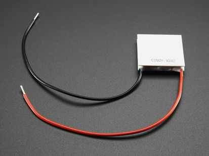 Thin Small Peltier Thermo-Electric Cooler Module with two power wires