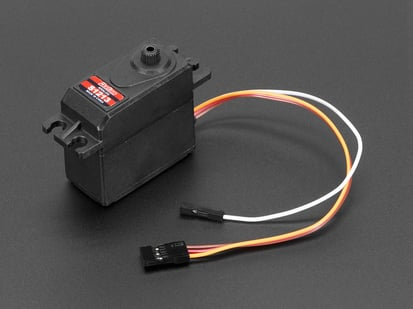 Analog Feedback Servo with three pin cable and one pin cable