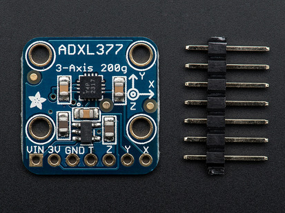 ADXL335 - 5V ready triple-axis accelerometer (+-3g analog
