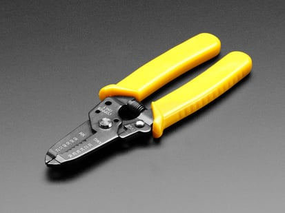 Closed Multi-size wire stripper  and wire cutter