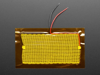 Electric Resistive Heating Pad covered with kapton film