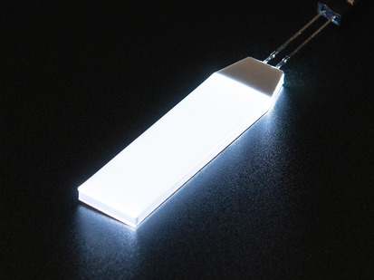 Small rectangular glowing LED