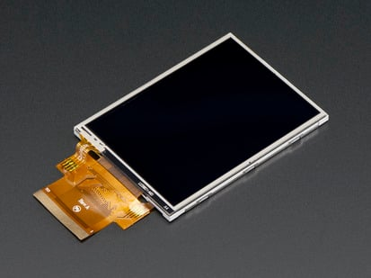 "Bare 2.8"" TFT display with FPC"