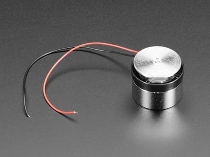 Medium Surface Transducer with Wires
