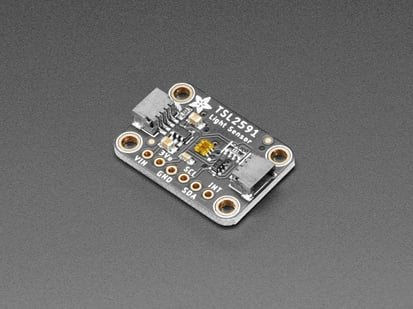 Adafruit TSL2591 High Dynamic Range Digital Light Sensor with stemma QT
