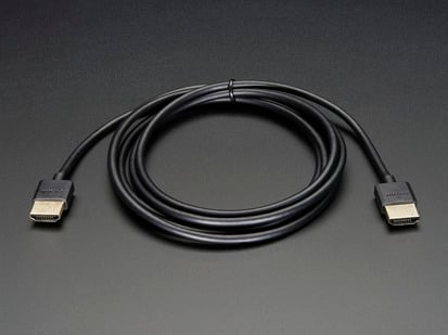 Slim HDMI Cable - 900mm / 3 feet long