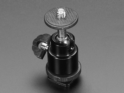 Swivel-Head Pan Tilt Shoe Mount Adapter