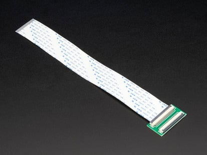 50-pin FPC Extension Board with  200mm long Cable
