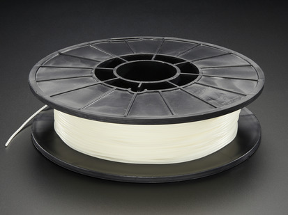 Spool of NinjaFlex Filament for 3D Printers - glow in the dark color with 1.75mm Diameter.