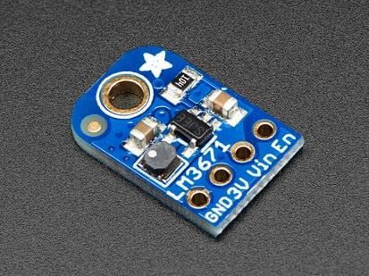 LM3671 3.3V Buck Converter Breakout PCB