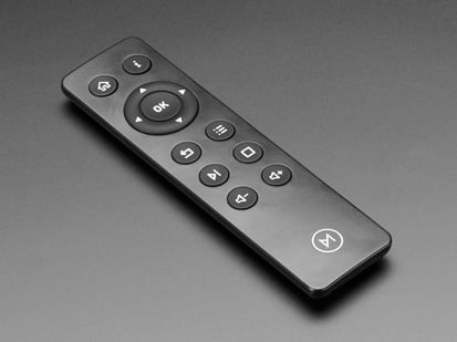 Remote Control with round buttons