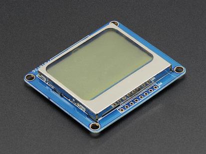 Nokia 5110/3310 monochrome LCD