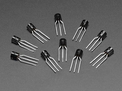 10 pack of PNP Bipolar Transistors (PN2907)