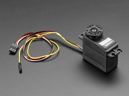 High Speed Continuous Rotation Servo with Feedback