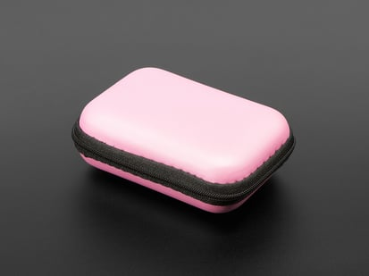 Maker-Friendly Zipper Case in Pink