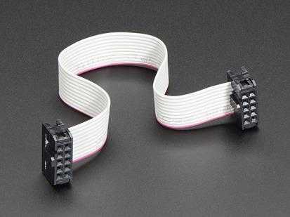 10-pin Socket/Socket IDC cable