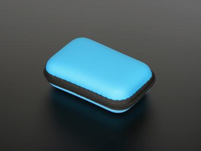 Maker-Friendly Zipper Case in Blue