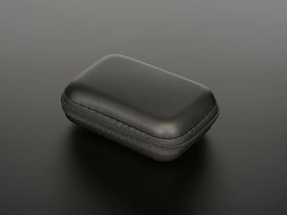 Maker-Friendly Zipper Case in Black