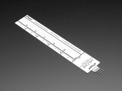 ruler-like flexible Tape Liquid Level Sensor with four pins