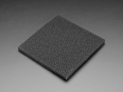 Black spongy Carbon Filter