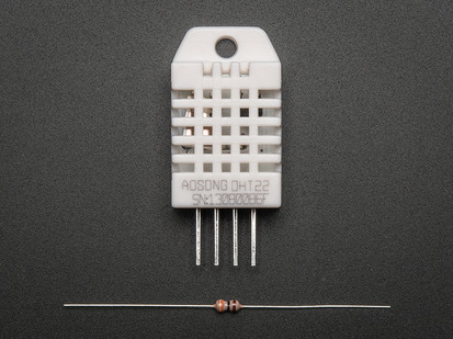 Four-pin sensor with 10K resistor