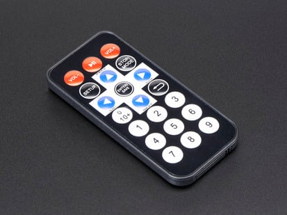 Mini Remote Control with 21 buttons