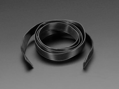 10 wire Silicone Cover Stranded-Core Ribbon Cable