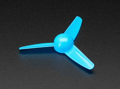 3-Bladed Trifoil Propeller Fan for DC Motor