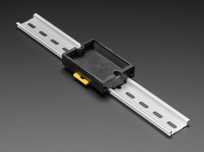 DIN Rail Generic PCB Holder - 50x80mm pocket