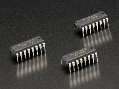3 pack of 74HC595 Shift Register chips