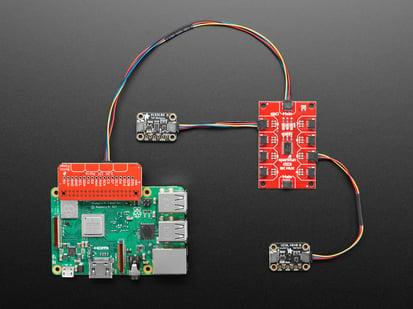 8 canal pegelwandler 8 Channel lógica level shifter Converter bidireccional i2c T