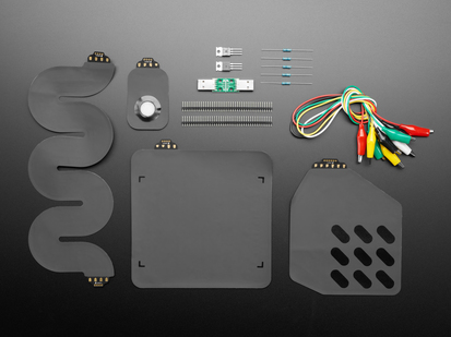LOOMIA Prototyping Packs & Parts - Quick-Start Pack showing all included parts