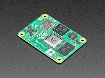 Angled shot of compute module.