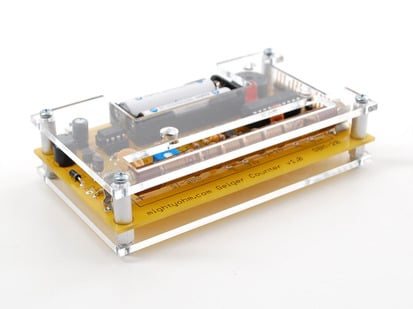 Geiger Counter Kit Clear acrylic Case