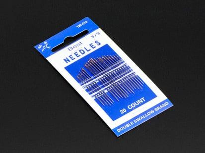 Needle set - 3/9 sizes - 20 needles