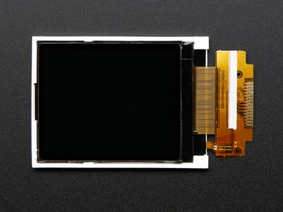 "Bare 1.8"" TFT display with FPC"