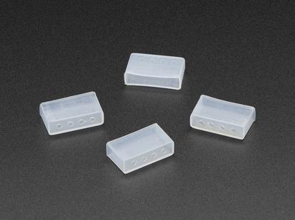 Four Silicone Caps