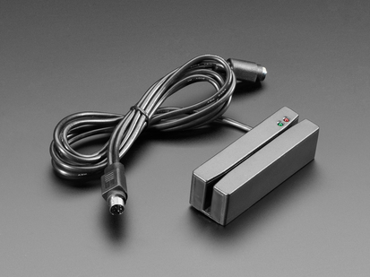 3 Tracks Mag stripe Reader with PS/2 Interface