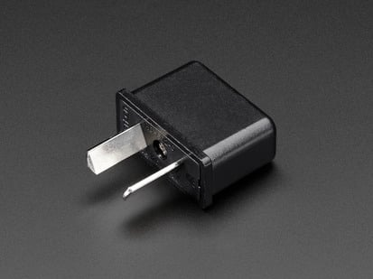 Australian Plug Power Adapter - Angle plugs