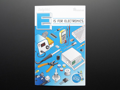 "Coloring book - ""Ladyadas E is for electronics"""