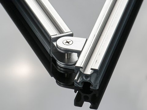 Adjustable Angle Support For 2020 Aluminum Extrusion Id