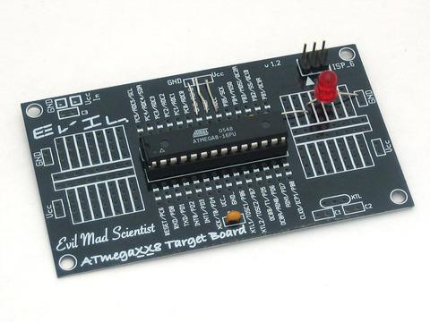 Barebones AVR dev. board
