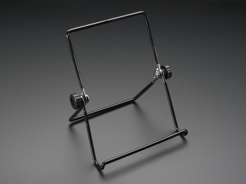 "Adjustable Bent-Wire Stand for 8-10"" Tablets and Displays"